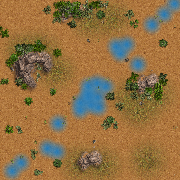 Hazy map for STBA.io - the free MOBA style HTML5 multiplayer game